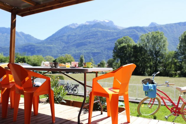 Taos vue montagnes Camping Les Fontaines