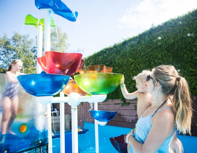 Spash toddlers pool Camping Les Fontaines