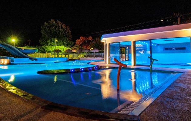 la ravoire camping piscine