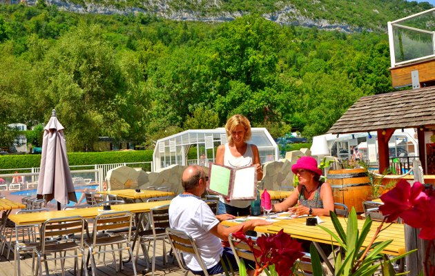 restaurant camping les fontaines